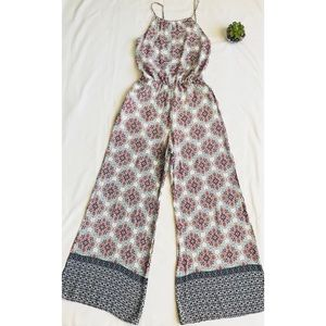 Pants - Mandala Romper Pants Jumpsuit boho playsuit Indian